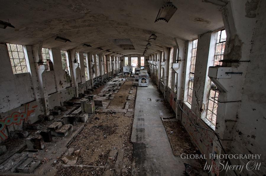 abandoned loading dock