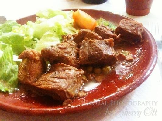 Pilgrim meals on the camino de santiago hike