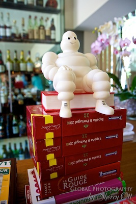 Michelin star ratings