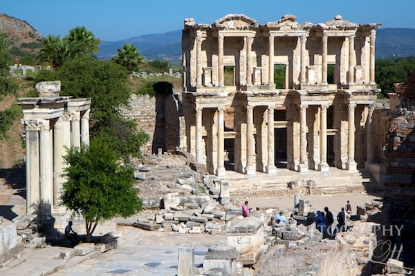 The most intact building - Library of Celsus