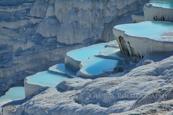 blue pamukkale pools