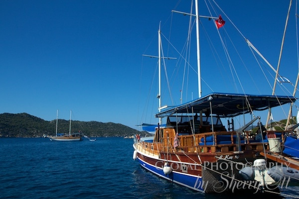 Selin 3 boat Kas Turkey
