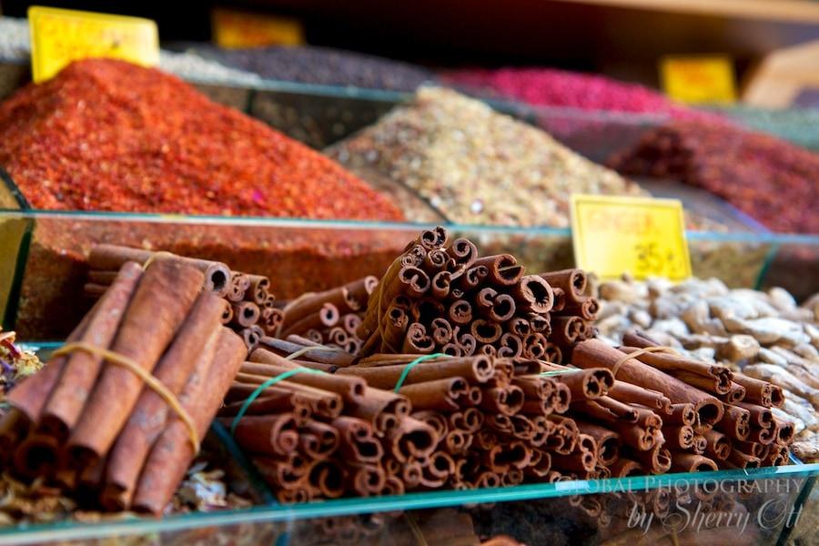 cinnamon at the spice market