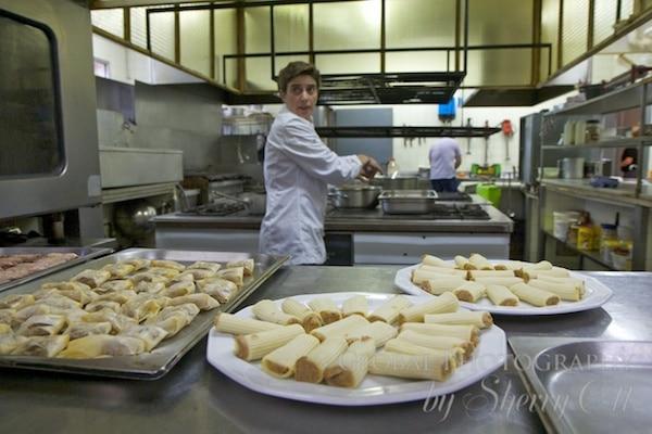 Chef's preparing tappas