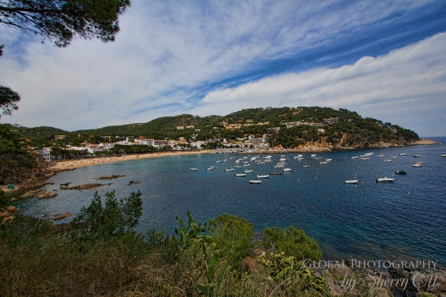 camino ronda view of Llafranc bay