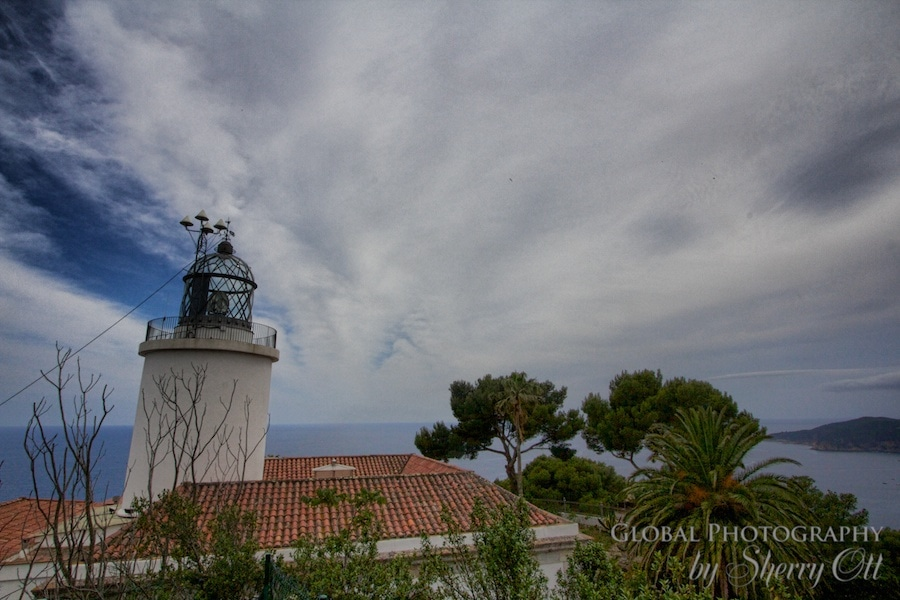 Sant Sebastia lighthouse