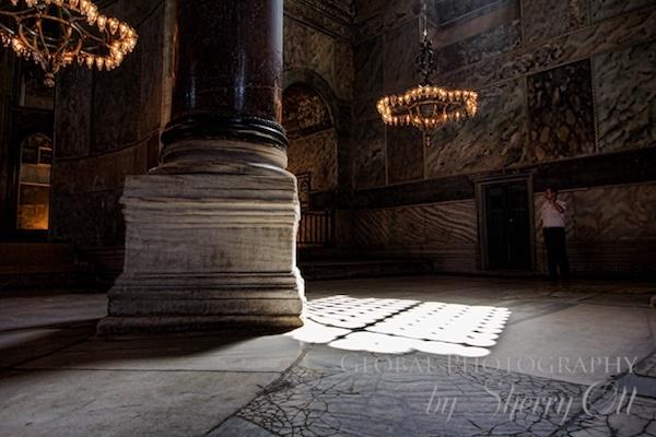 The haunting light of Hagia Sophia