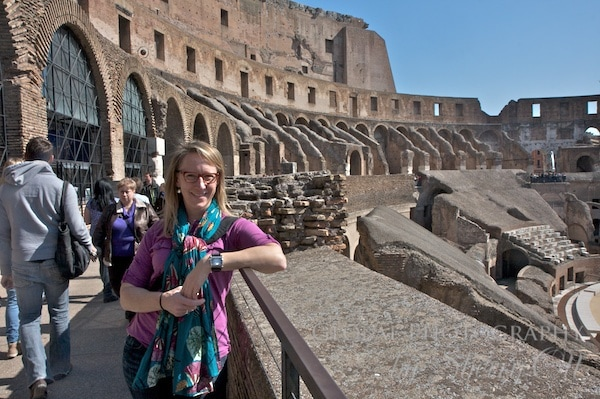 Me at the Coliseum in 2012