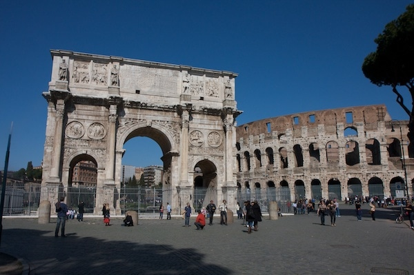 Arch of Constantine 2012