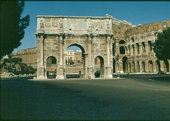 Arch of Constantine 1956 - no gates