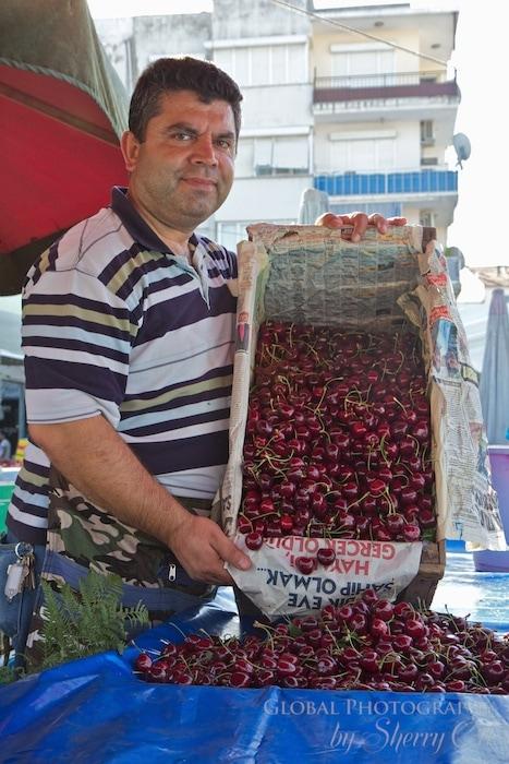 Cherries were in season when I was in Turkey