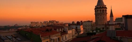 Galata Tower Istanbul Sunset