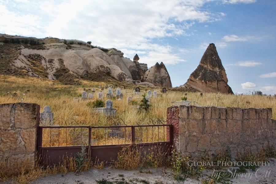 Cappadocia Turkey cemetery