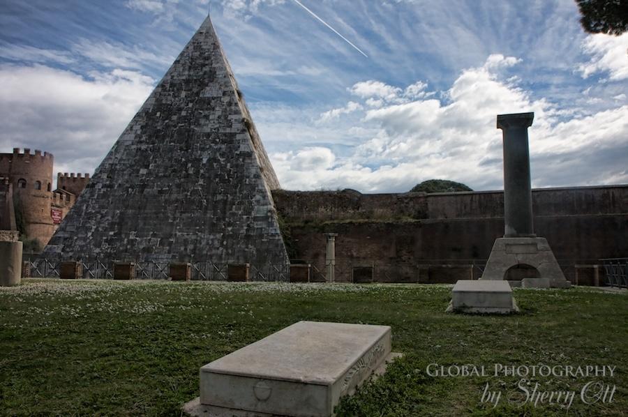 testacccio Protestant cemetery