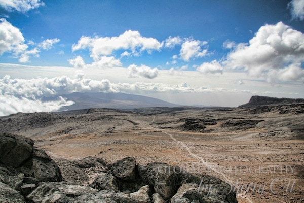 The view from Lava Tower