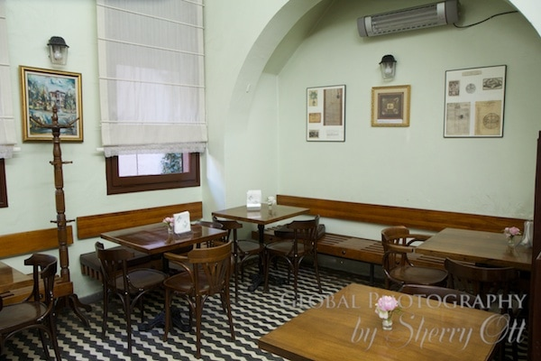 old cafe in Kadikoy