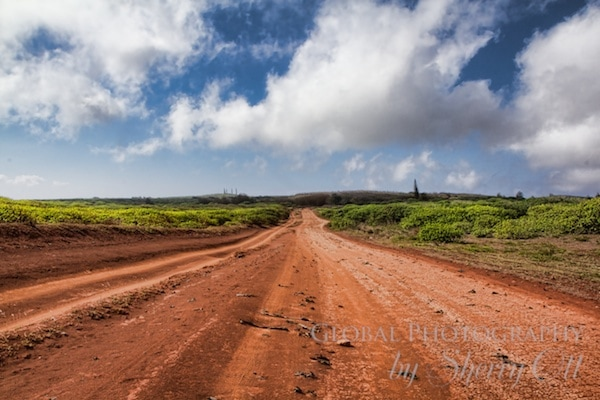 Lanai lacks many roads