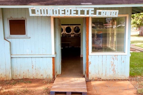 Laundromat in Lanai Hawaii