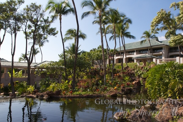 Grounds at Manele Bay