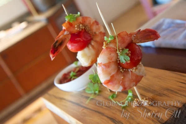 Colossal shrimp cocktail