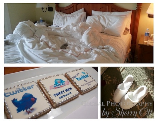 The best beds, slippers and service in my travels!