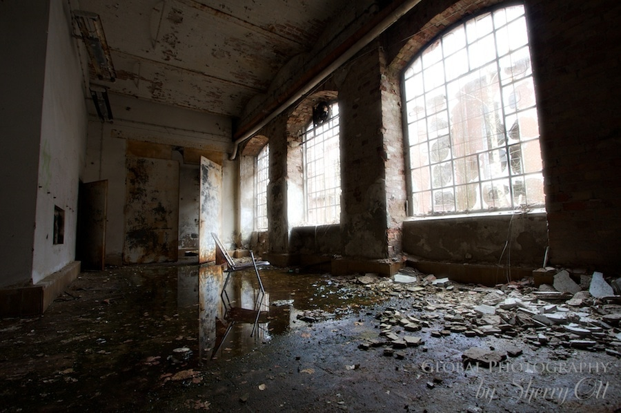Abandoned Printing factory Berlin Germany