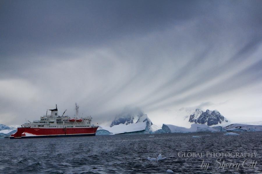 cloudscape ship antarctica