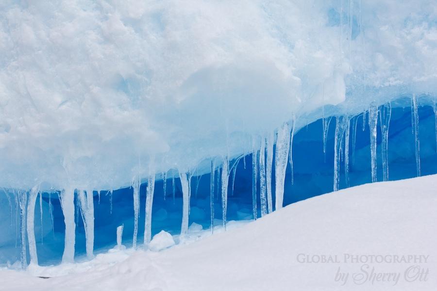 Ice antarctica