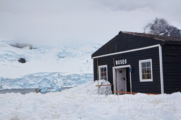 Gabriel Gonzalez Videla Station museum in Antarctica