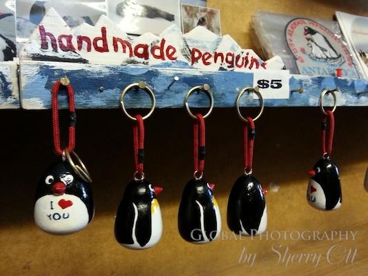 souvenir penguins antarctica research base shopping