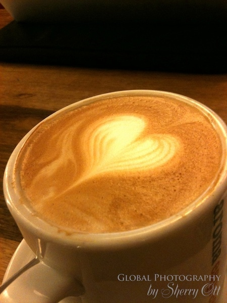 A little love in my coffee