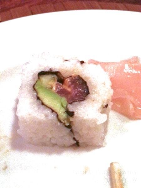 I do love sushi