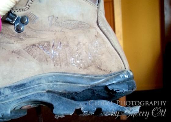 broken boot