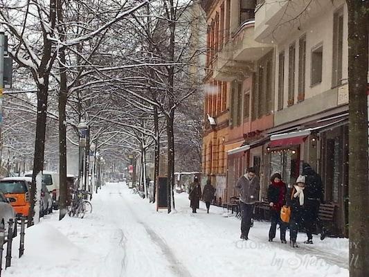 spring snow berlin