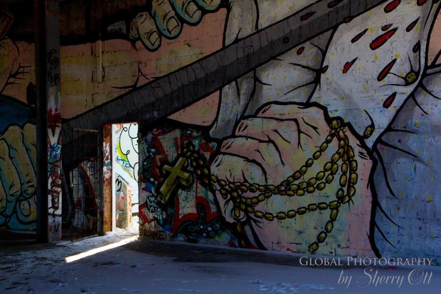Teufelberg graffiti berlin