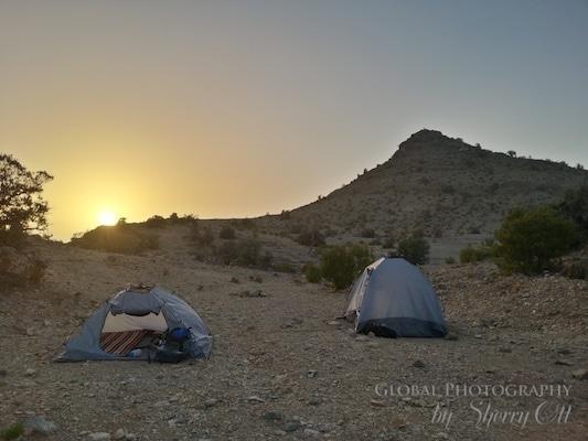 Jebel Akhdar camping