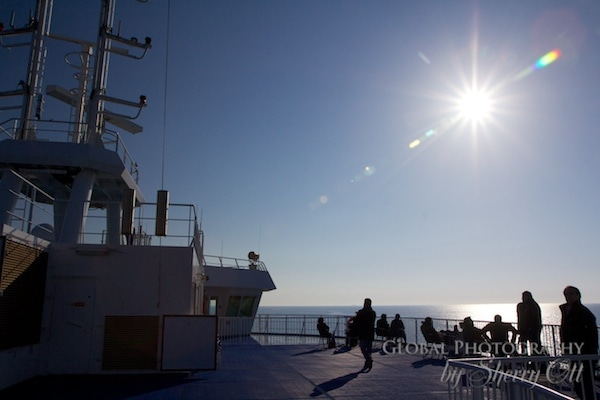 Ferry Baltic Sea