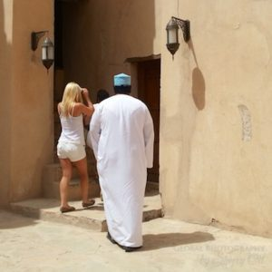 Inappropriate dress in middle east