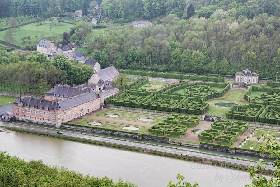 Castle along the Meuse