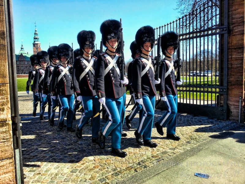 Copenhagen changing of the guards