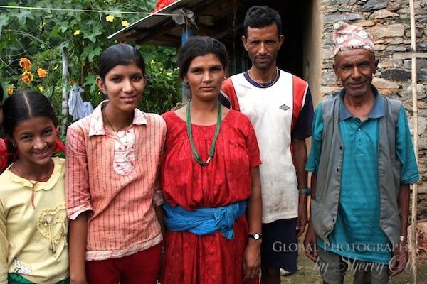 Nepal family