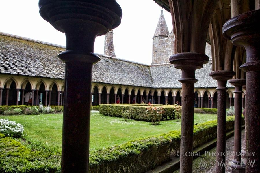 Cloisters Mont Saint Michel
