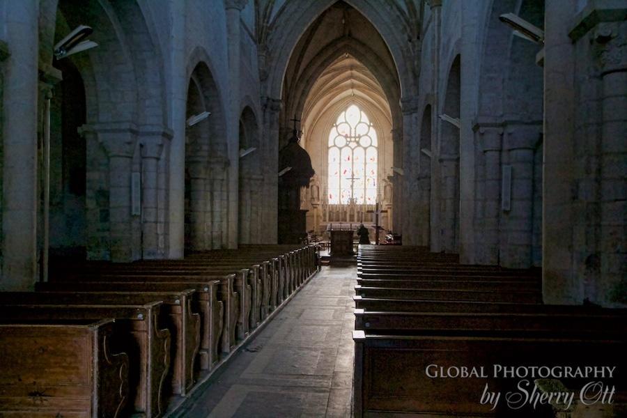church Sainte Marie du Mont