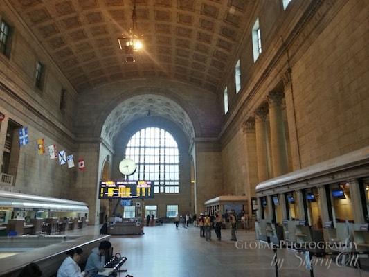 Toronto train station