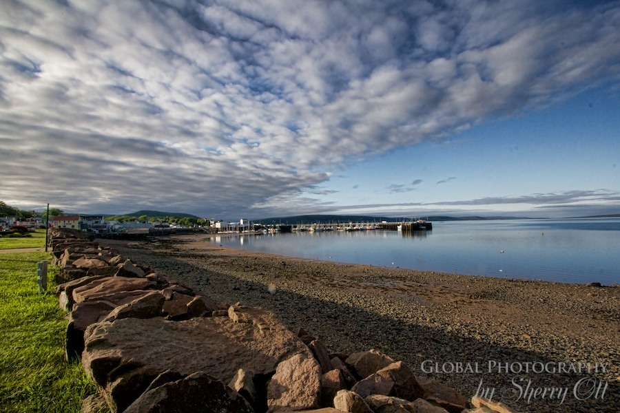 Digby Harbor and the Bay of Fundy Nova Scotia