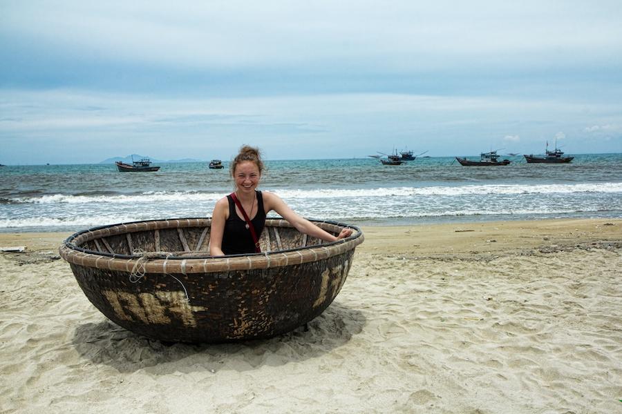 Fishing boat Da Nang Vietnam