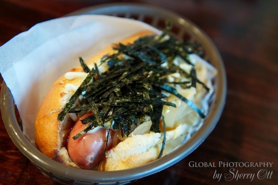 Japanese hot dog