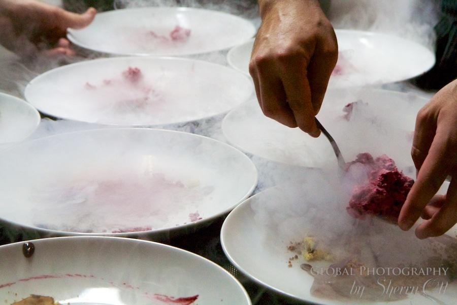 restaurant plating