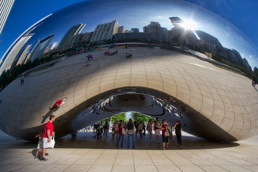 48 hours in chicago Cloudgate photos