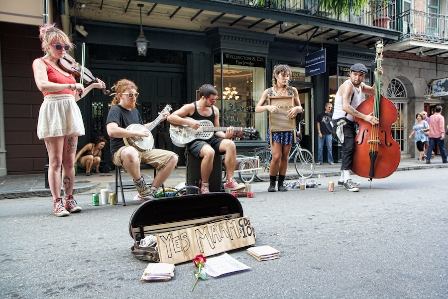 street music new orleans
